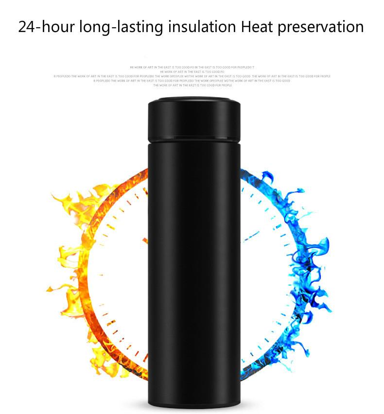 24 h Thermos intelligent avec température  | OkO-OkO