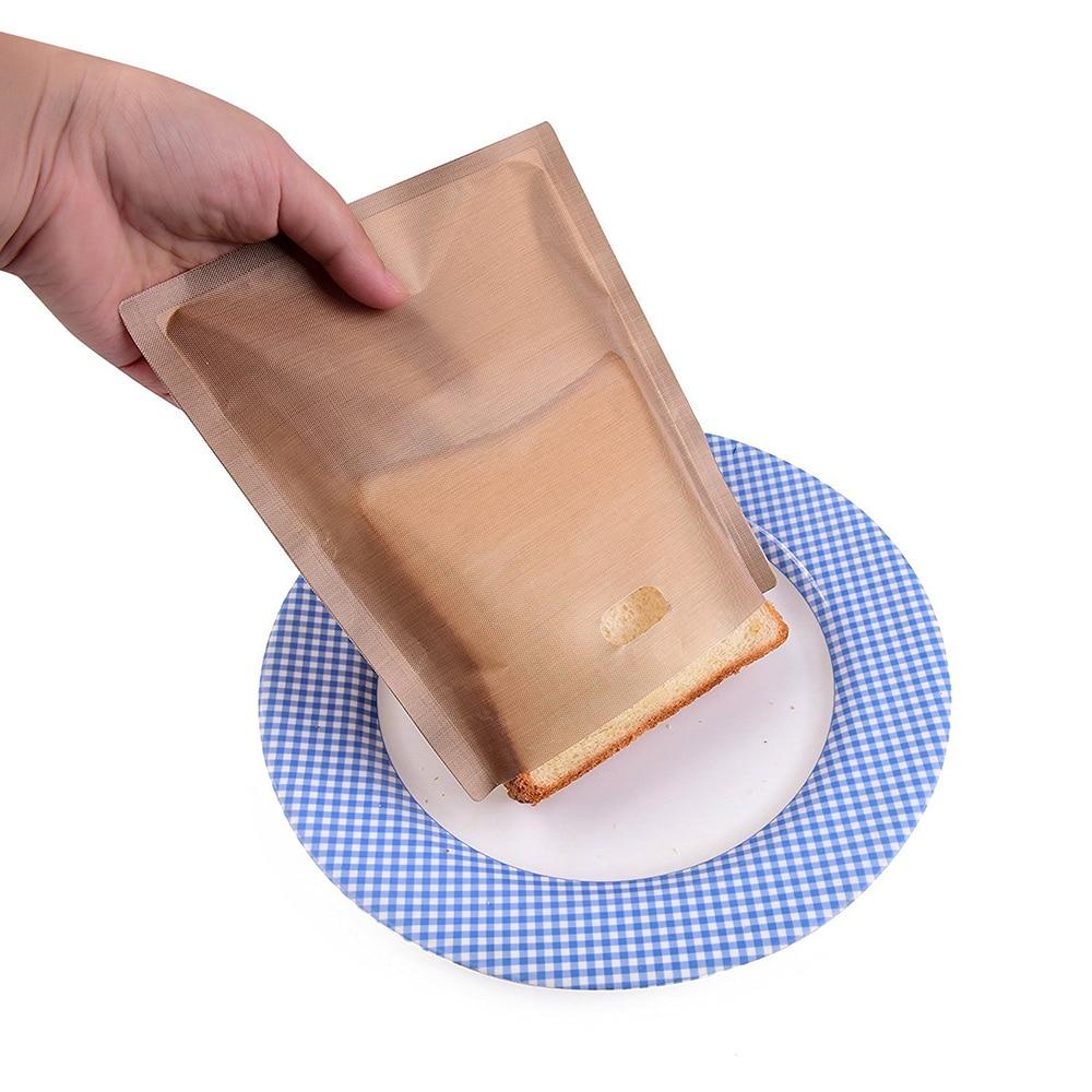 6 Unidades Antiadherente Bolsa de Horno Resistente al Calor Reutilizable Anlising para tostadora Antiadherente