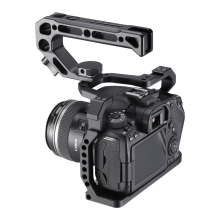 Camera Cage Monitor Cold-Shoe-Mount Arri-Hole Uurig Canon Screw-To-Microphone Aluminium