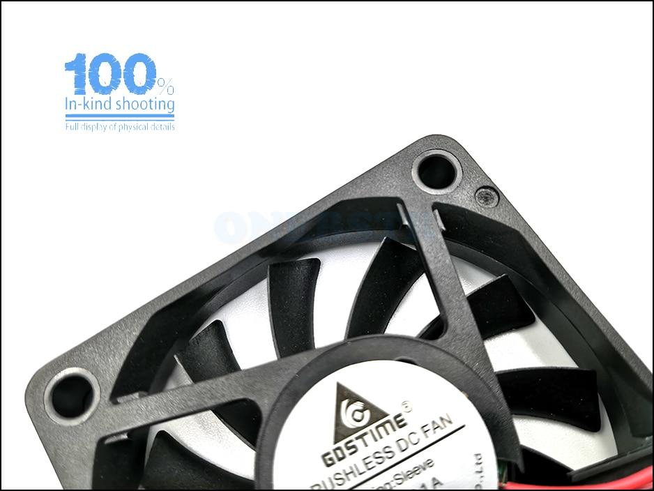 6010 Brushless Fan DC 5V 12V 24V 60X60X10mm Computer PC CPU Case Cooling Fan 6cm 60mm USB 2PIN 3PIN Cooler Fans  free shipping 8