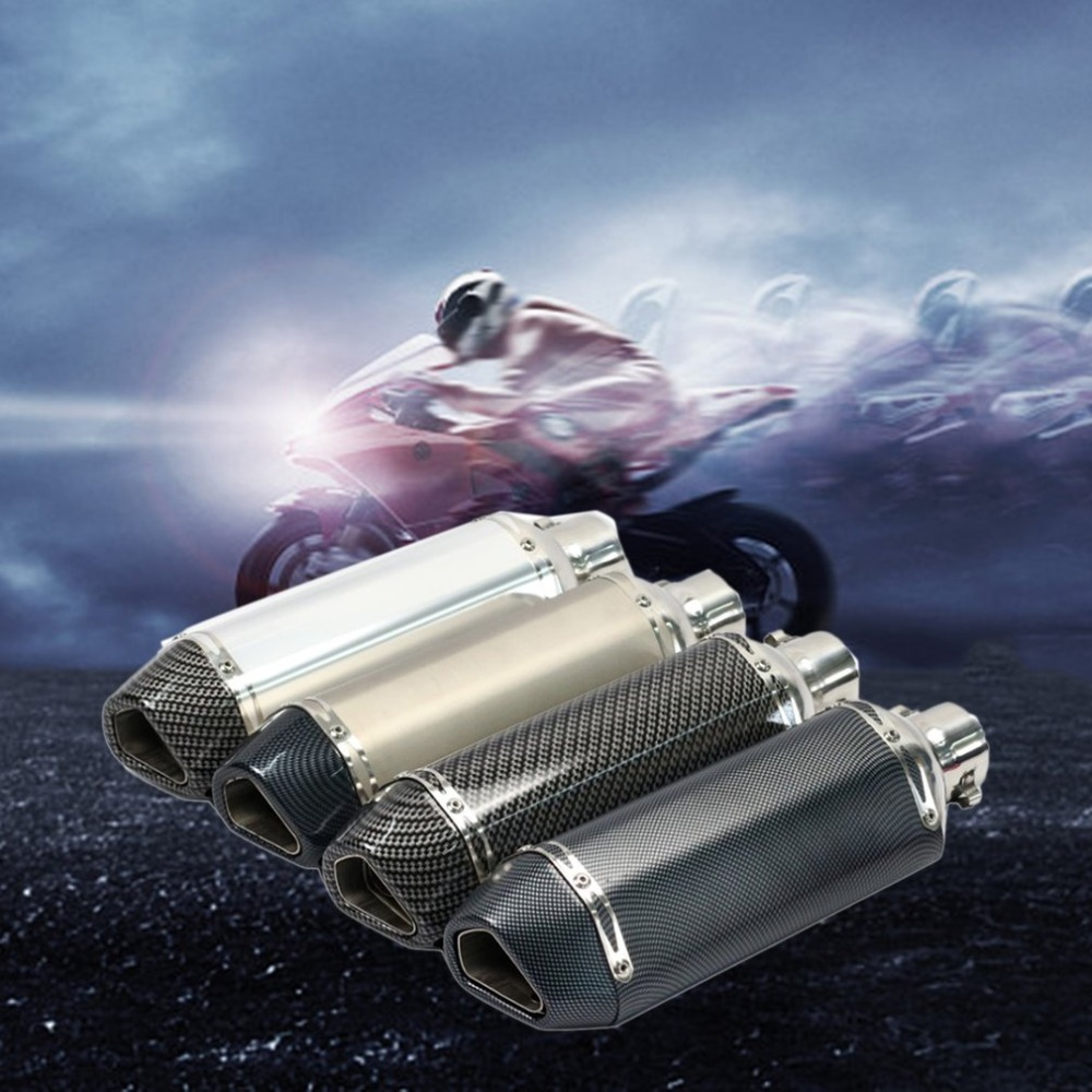 Motorcycle Exhaust Carbon-Fiber Tail Universal Hot Refitting Design-Style Fashion title=