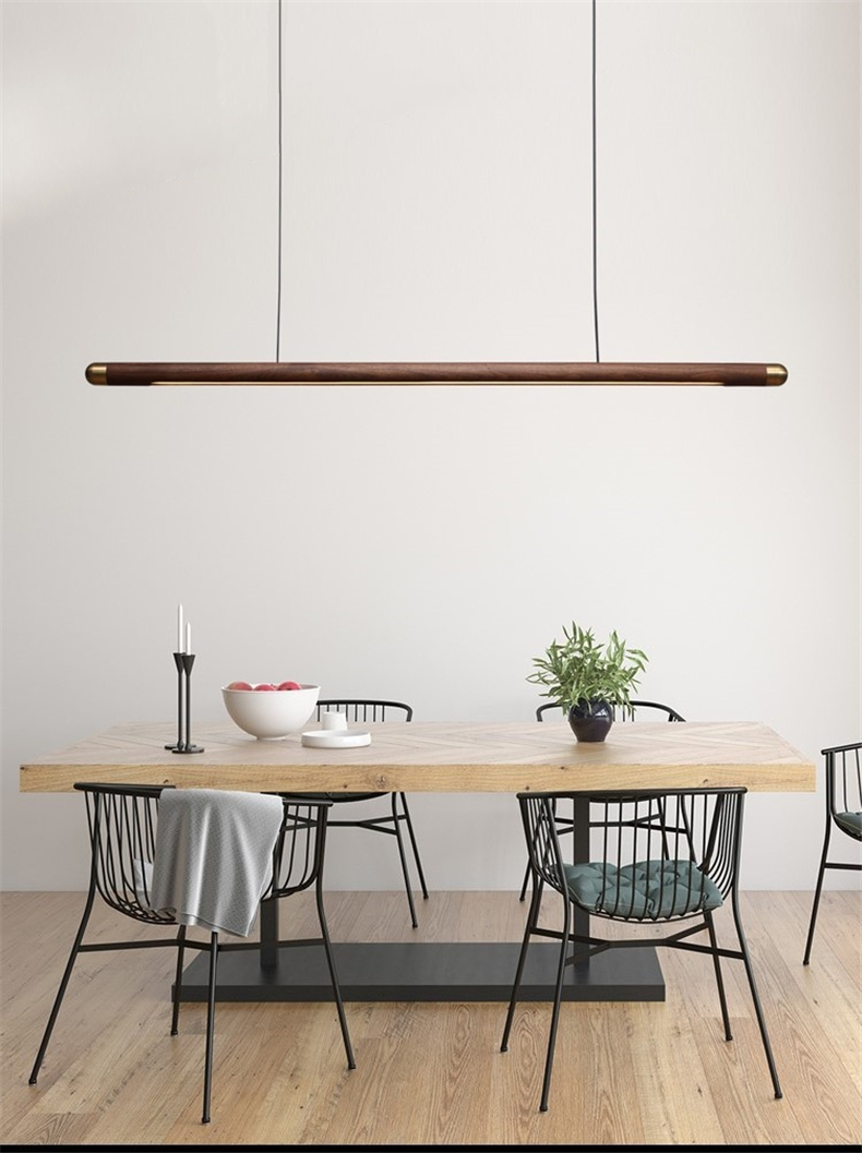 Designer Dining Room Wood Pendant Lights Black Walnut Minimalist Long Strip Led Hanglamp Home Decor Dining Table Light Fixtures Aliexpress,15 Most Beautiful Places To Visit In Colorado