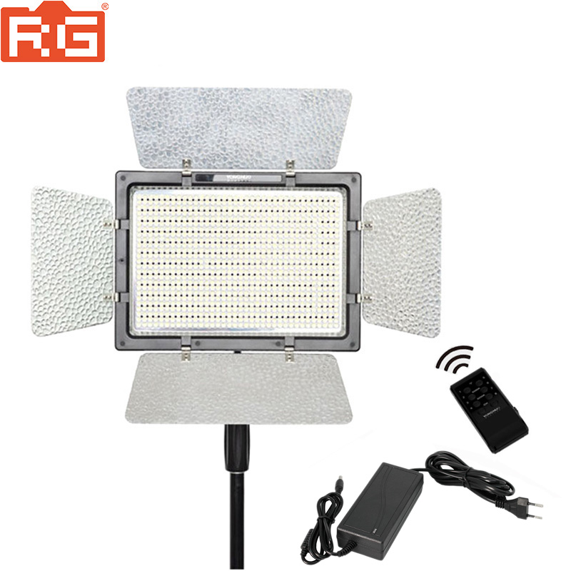 YONGNUO YN900 LED Video Light 5500K PRO KIT W Battery Softbox Charger AC adapter