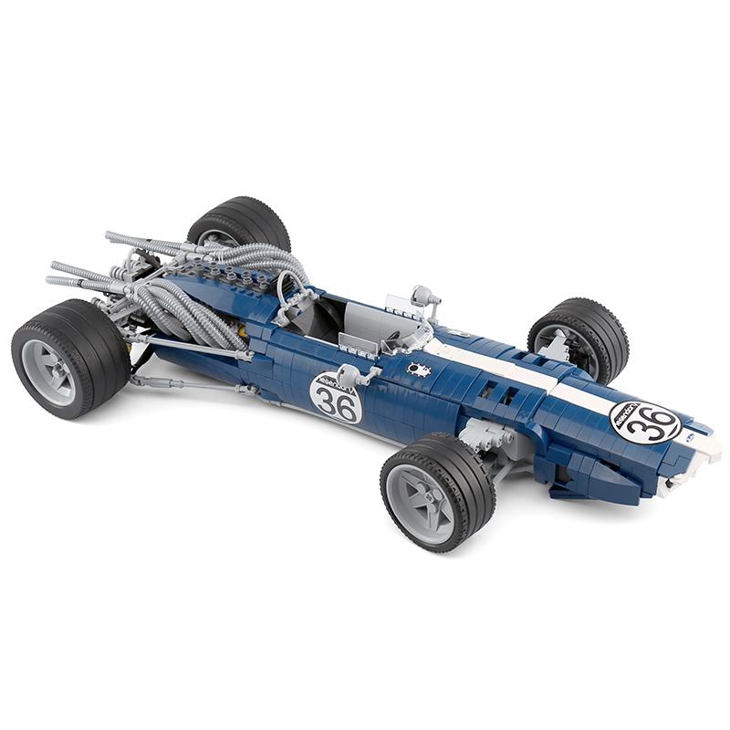XINGBAO XB-03022 Formula 1 Racing Car Blue Sonic Building Block 17