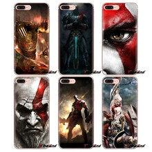 Мягкие прозрачные чехлы для iPod Touch Apple iPhone 4 4S 5 5S SE 5C 6 6S 7 8 X XR XS Plus MAX God of War Kratos III(China)