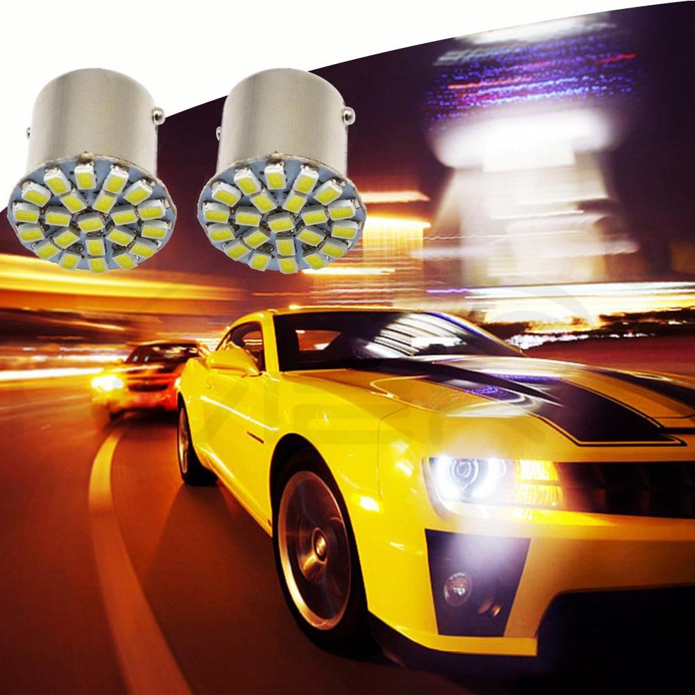 Hviero 1157 BAY15D 1156 BA15S 1206 22 SMD White Brake turn signal tail Light Auto Led Wedge corner Lamp DC 12V Parking Lamp Car Led