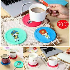 USB Warmer et Refroidisseur Coaster Tasse Boisson Bouteille Pad Pour Bureau Maison Cadeau Bureau