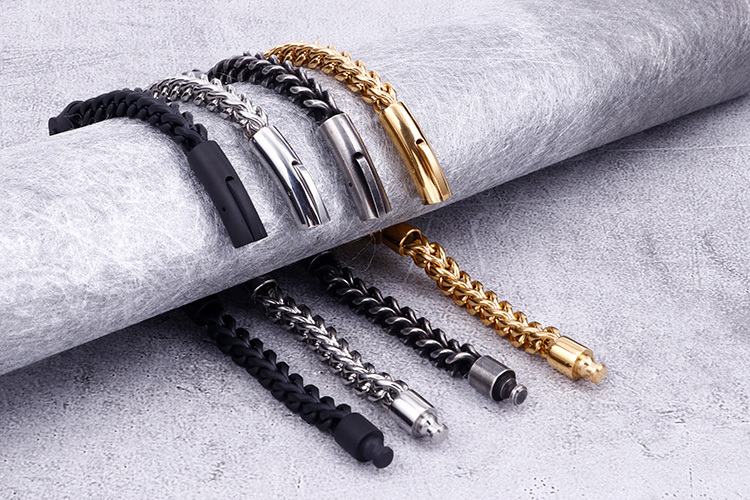 Cycolinks Stainless Steel Cast Metal Bike Chain Bracelets