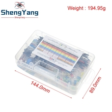 Starter-Kit for Led/capacitor/jumper-wires/Breadboard-resistor-kit with Retail-Box Shengyang