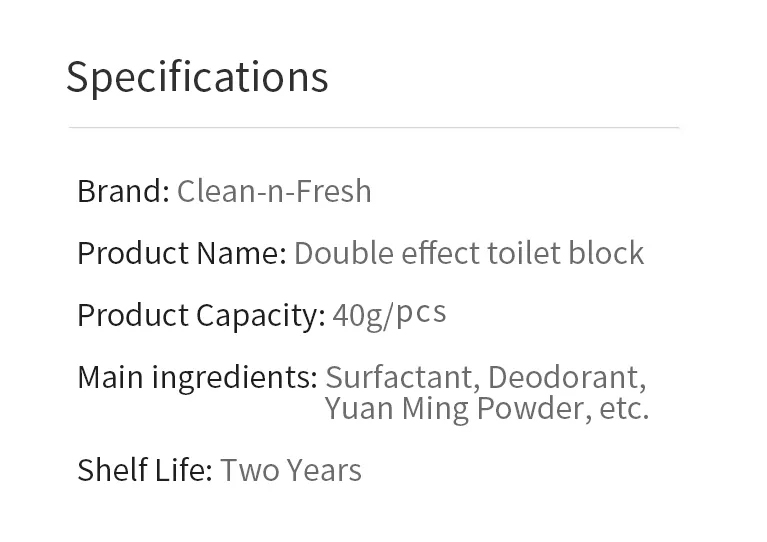 Xiaomi Clean-n-Fresh Automatic Flush Blue Bubble Toilet Cleaner Deodorization Cleaning Household for Bathroom Restroom Cleaner (10)