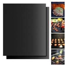 BBQ non-stick mat PTFE Grill Mat Barbecue Grill outdoor Baking Pad Reusable Cooking Plate 40 * 33cm For Party Tools New