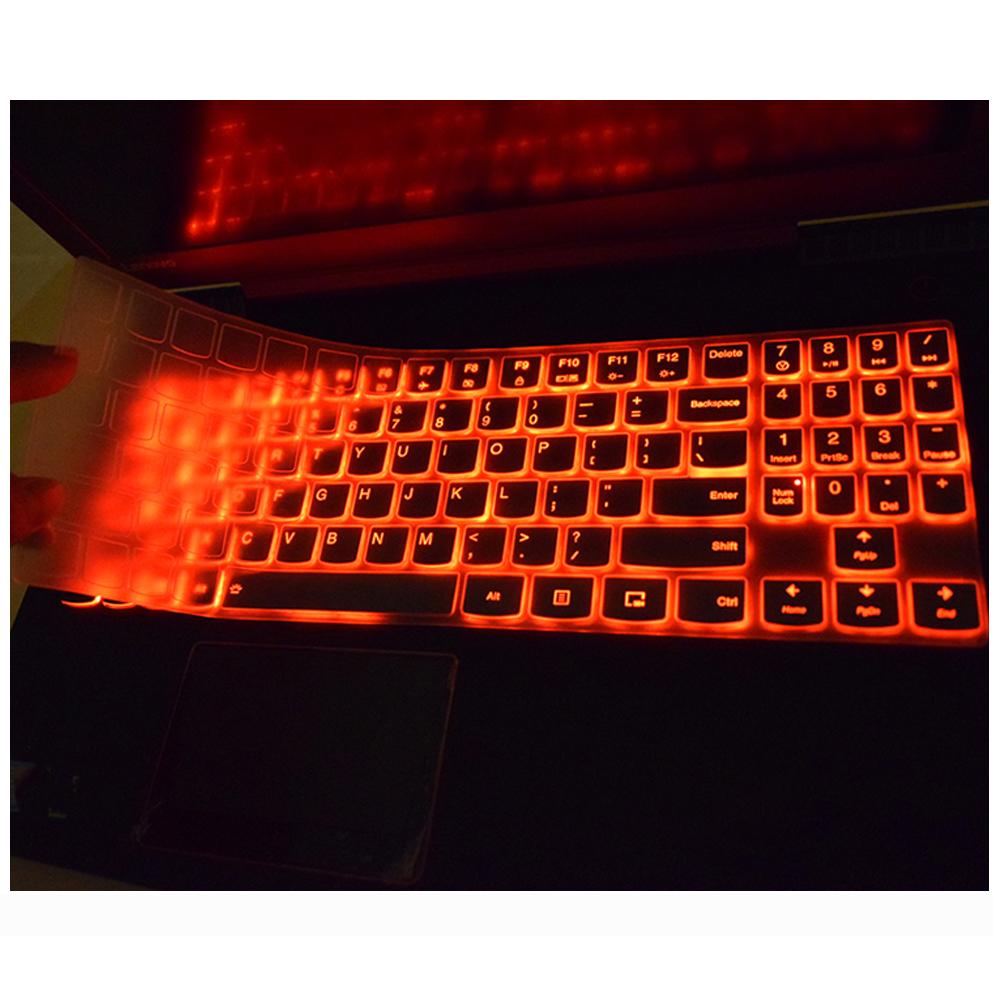 Cover protettiva per tastiera in silicone per Lenovo Legion Y530 R720 Y520 Y720 Y7000 Y7000P Y540 Y9000K 15.6 Y730 Y740 17.3-rainbow