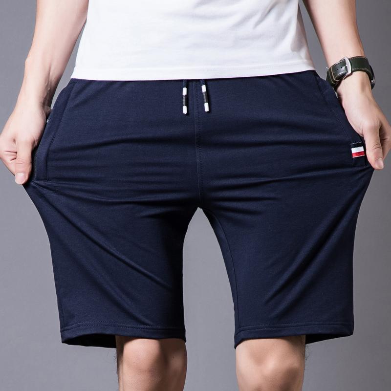 Cotton-Shorts-Men-Summer-Beach-Short-Male-Casual-Shorts-Mens-Solid-boardshorts-High-Quality-Elastic-Fashion