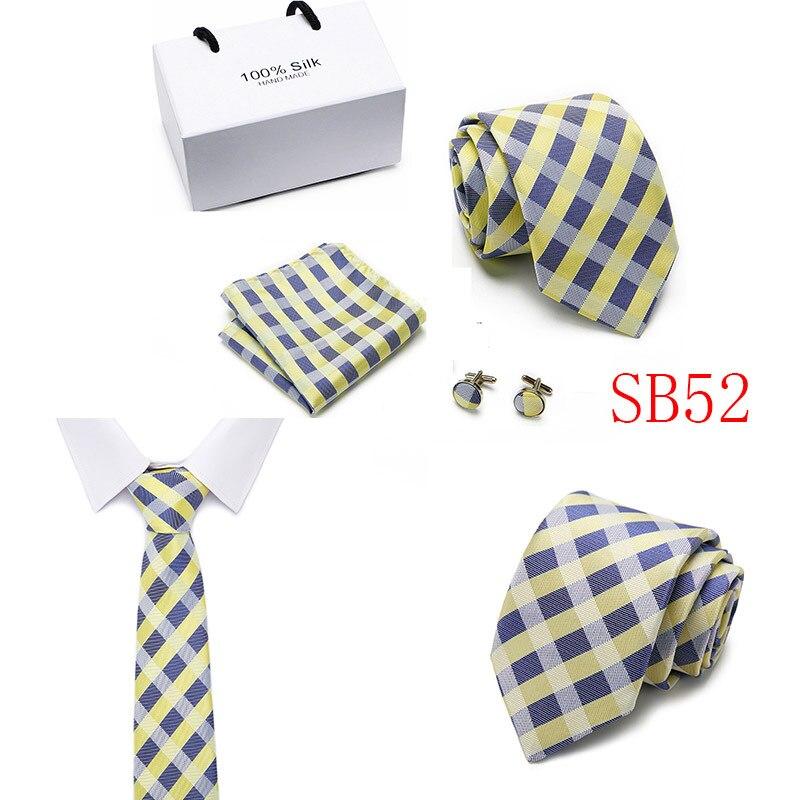 Men Ties Set Size 146x7.5x3.5cm Polyester Yarn Neck Tie Suit Men