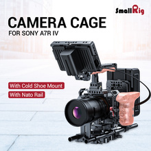 SmallRig A7R IV Form-fitting Camera Cage For Sony A7R IV Dslr Cage With Cold Shoe Mount and NATO Rail - 2416
