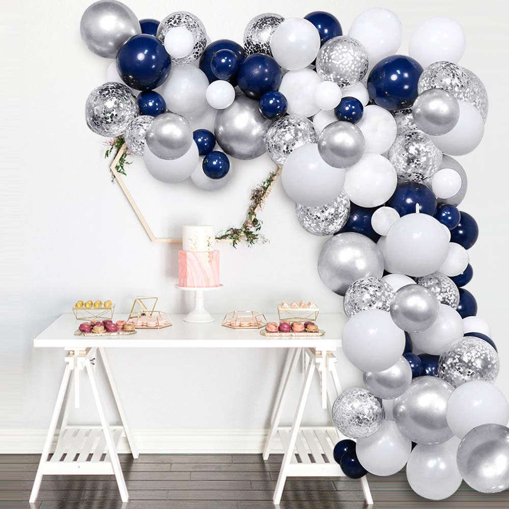 NAVY BLUE TABLECOVER ROLL BIRTHDAY PARTY SUPPLIES