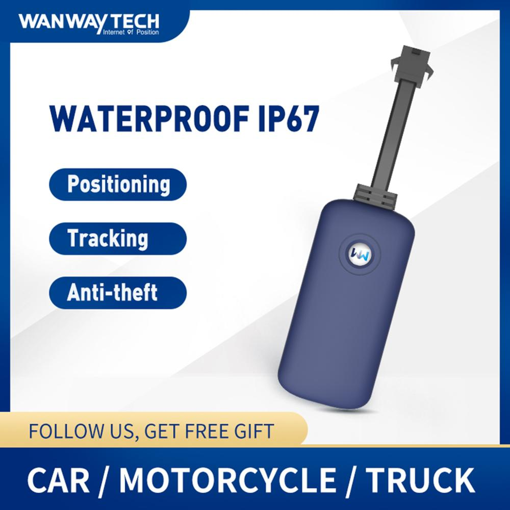 WanWayTech Waterproof GPS Tracking Tracker G19 Cars Motorcycle Tracking Device Mini Size title=