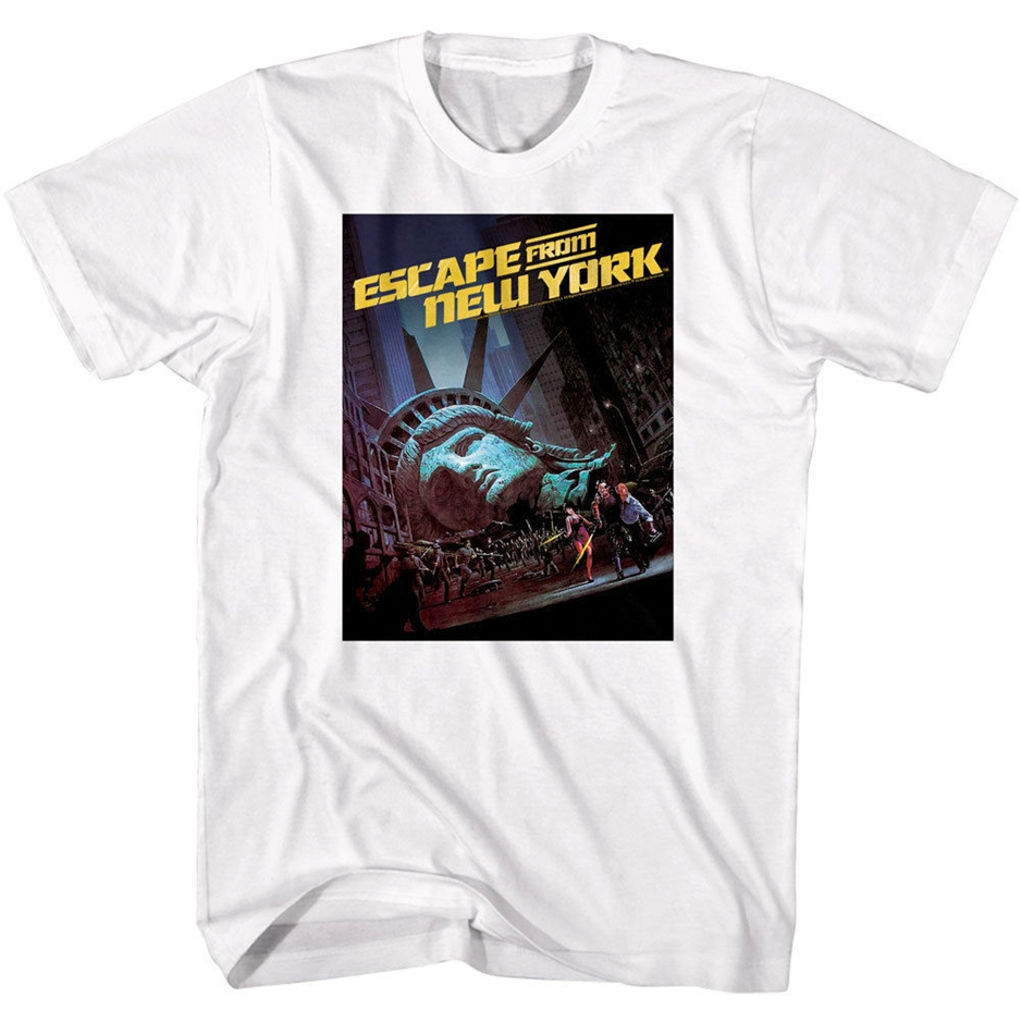 Escape From New York 80s Sci-Fi Film T Shirt W081 Snake Kurt Russell The Thing