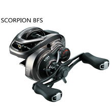 MAX DRAG Fishing-Reel Shimano Scorpion Saltwater Baitcasting BFS Spool-Design BB 7--1