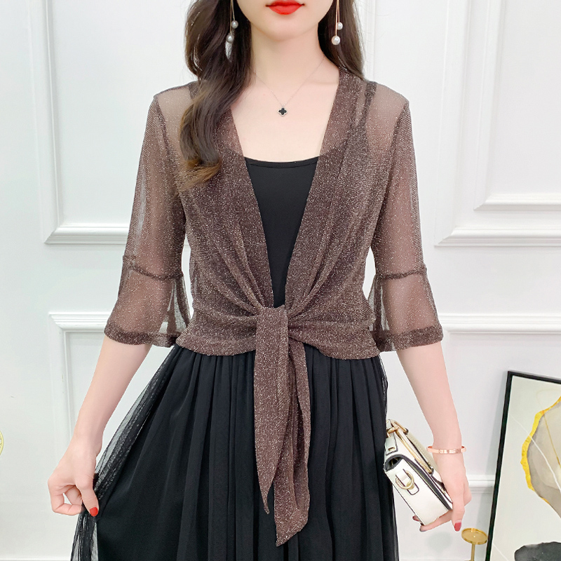 Bolero Femme Mariage Lace Wedding Jacket Wrap Half Sleeve Open Front Sheer Bolero Shrugs For Women Shawl Bridal Cardigan Tops
