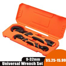 Wrench-Set Spanner Hand-Hardware-Tools OIL-FILTER Ratchet Multi-Function Adjustable Universal