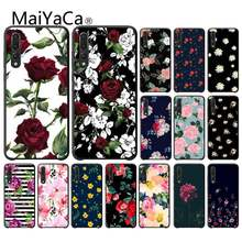MaiYaCa Art Pretty Fondos Flower Customer высокое качество PhoneCase для HuaweiY9 2018 HONOR 8 8X 9 9LITE View9 10 honor 10 20 lite(China)