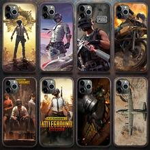 Popular game PUBG Phone Case for iPhone 8 7 6 6S Plus X 5S SE 2020 XR 11 12 Pro mini