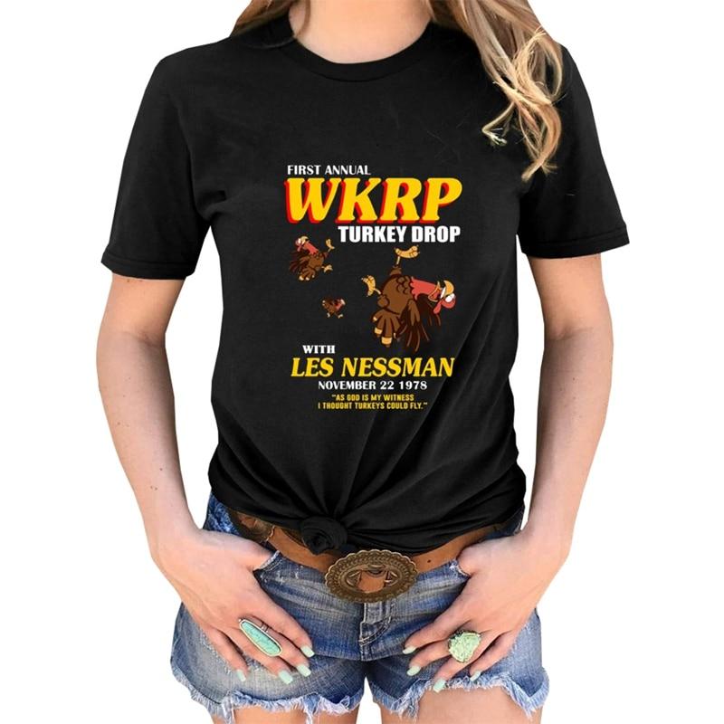 Halloween Thanksgiving Women tshirt Female funny graphic TURKEY DROP t shirt tees tops drop ship