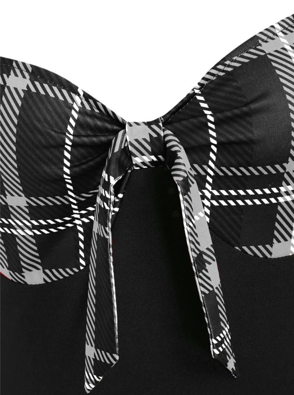 9269black with black plaid (3)