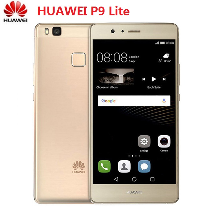Huawei P9-Lite 4G Smartphone 16GB 3GB WCDMA/LTE/GSM Octa Core Fingerprint Recognition title=