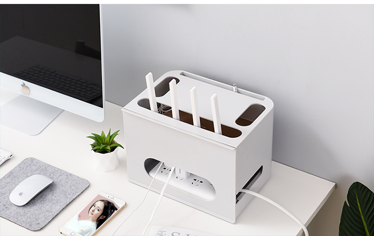 Double Layers Drawer Type WIFI Router Storage Box 85