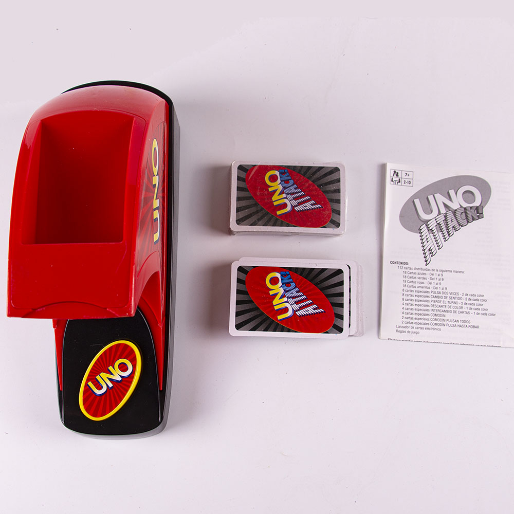 Mattel Games UNO SPIN  Board Game Spin Licensing Playing Cards Game Party Toys