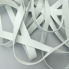 White Rubber Swimsuit Elastic-Band Non-Toxic Soft Wholesale 20m 3/4/5-/.. DIY High-Quality
