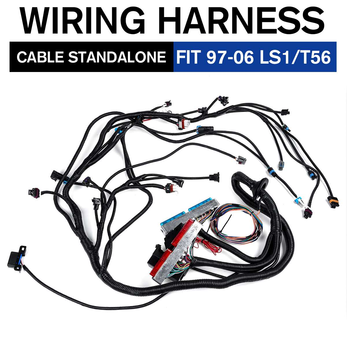 [ZHKZ_3066]  1997 2006 For LS1 Engines VORTEC STANDALONE WIRING HARNESS Drive By Wire T56  / Non Electric Tran 4.8 5.3 6.0| | - AliExpress | T56 Wiring Harness |  | AliExpress