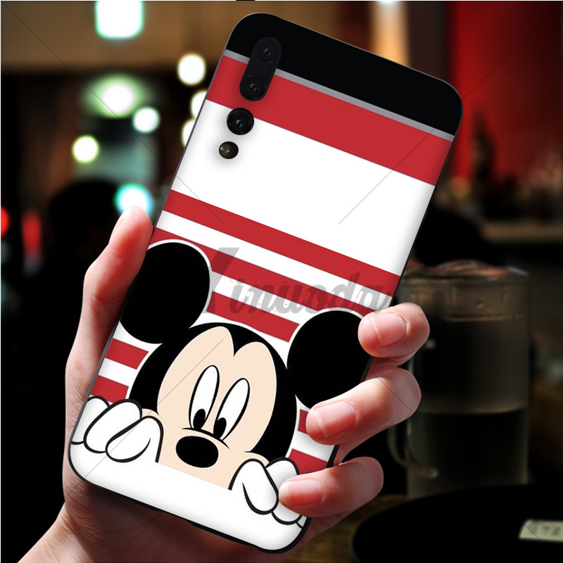 Cute Stitch Mickey Minnie
