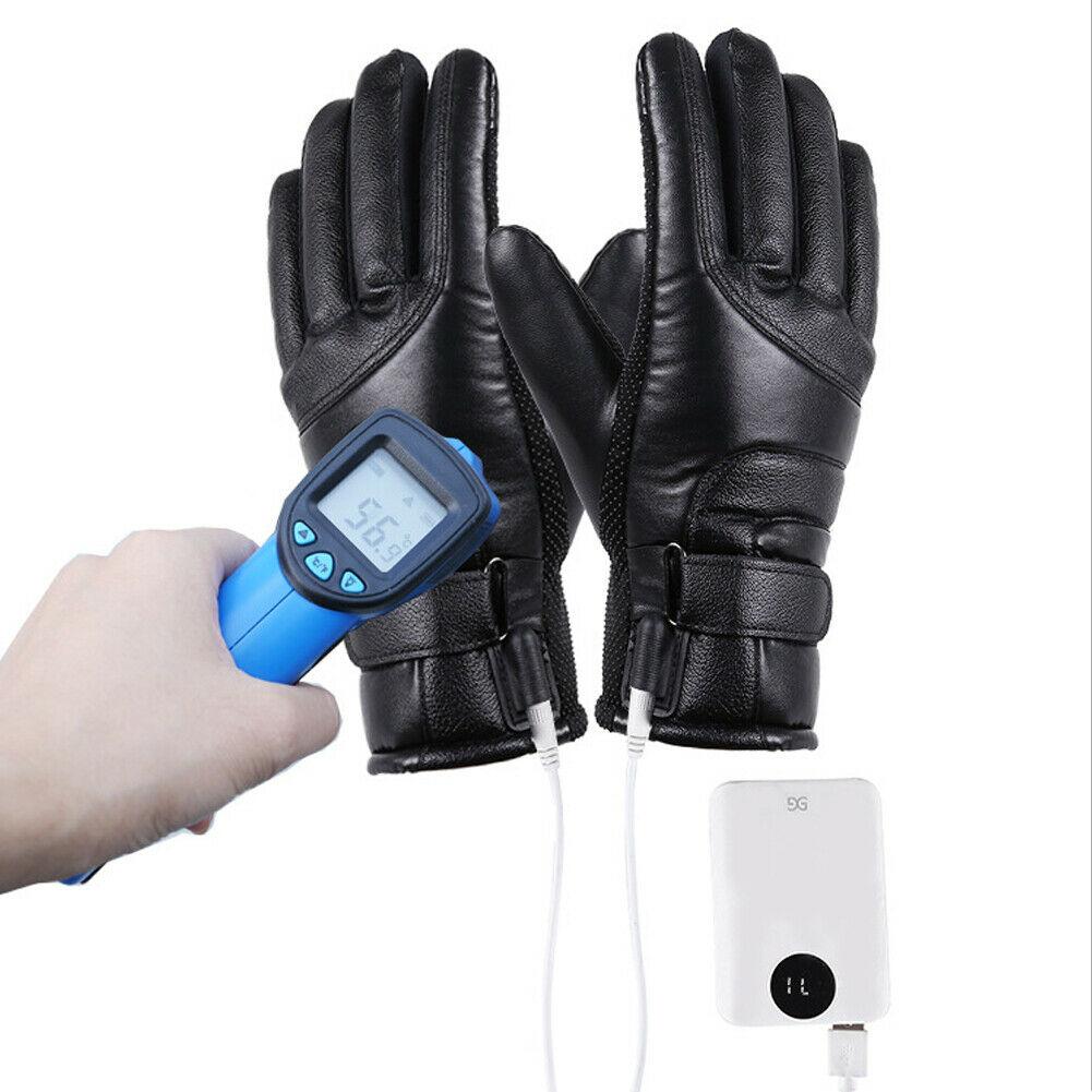 Gants chauffants électrique tactile pour moto ou vélo