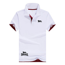 Polo-Shirts Tops Turn-Down-Collar Men's High-Quality Brands Tees Business