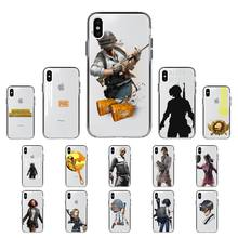 YNDFCNB Hot PUBG Game Phone Case for iPhone 11 12 pro XS MAX 8 7 6 6S Plus X 5S SE 2020