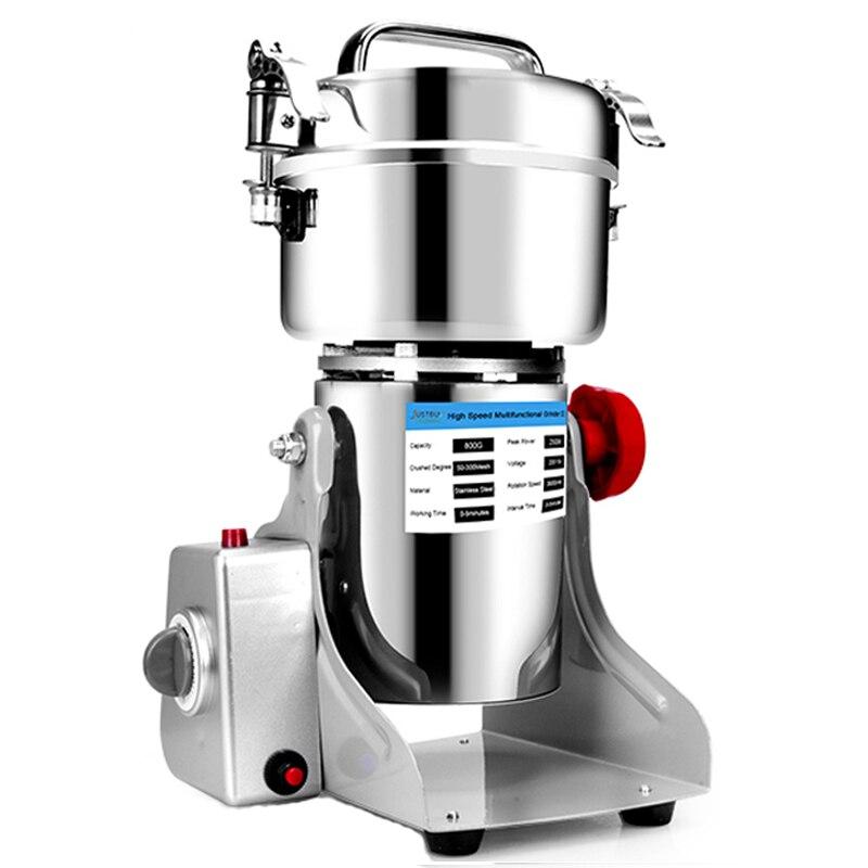 Кофемолка для сухих продуктов, 800 г зерен, специй, злаков, кофе