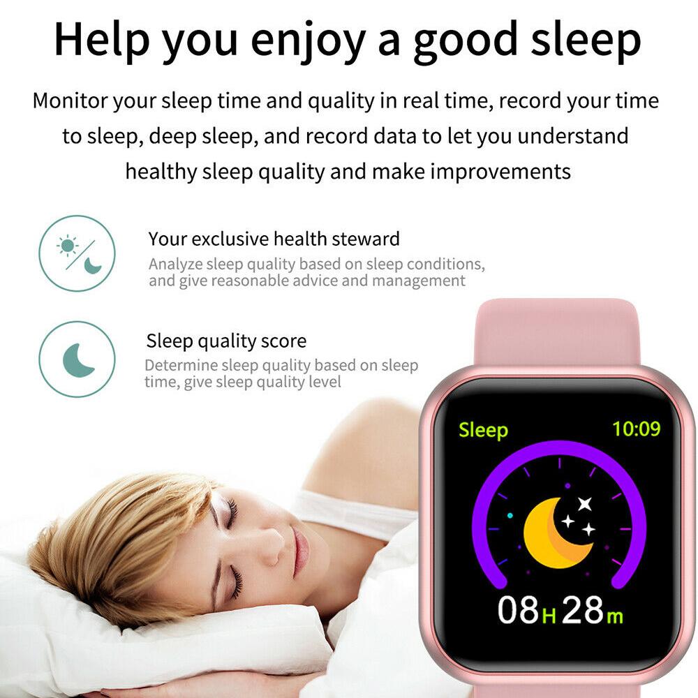 Mobile Phone - Smart Watch Waterproof Smartwatch For Android IOS Smart Watch Kids Men Women Heart Rate Monitor Blood Pressure Watch