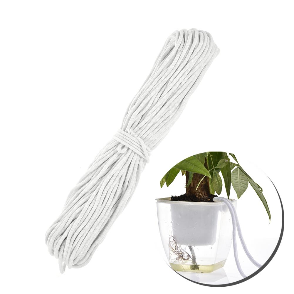 Self Watering Wick Cord,Auto Waterer Treatment Drip Irrigation Cotton Rope String for Indoor Potted Plant DIY Vacation Self-Watering Planter Pots