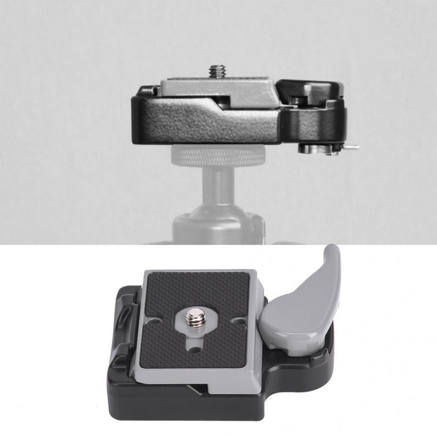 Vbestlife Camera Tripod Mount Plate Quick Release Plate Seat Platform Mount Base Tripod Monopods Base Flash Mount for SLR Camera,