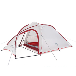 NatureHike Hiby серии Семья палатка 20D/210 т сверхлегких ткани для 3 человек с коврик NH17K230-N