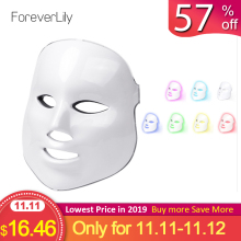 Foreverlily Facial-Mask Removal Light Rejuvenation Skin-Care Wrinkle Acne Photon Led