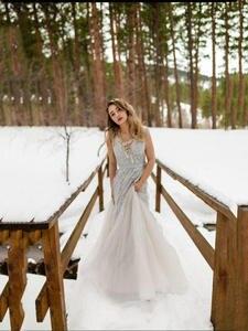 Prom-Dresses Vestido-De-Festa Formal Elegant Evening Beading Longo Party In-Stock Real-Photos