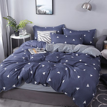 New Fall Winter Bedding set duvet cover set flat sheet pillowcase King queen full twin single size No quilt(China)