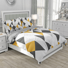 Set Quilt-Cover-Set Bedding-Set Geometric Queen King Adult 2-People Patterns