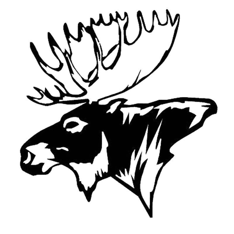 Pegatina Hunt Buck Sticker Deer Hunter Club Decal Shop Hollow Hunting Car Window Vinyl Decal Funny Poster