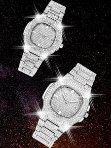 Mens Watches Diamond...