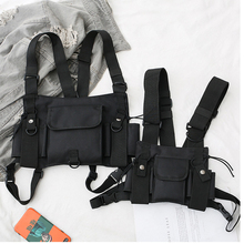 Chest-Bag Vest Bag-Gear Bullet Airsoft Tactical Waist-Pack Fashion Men for Women Hip-Hop
